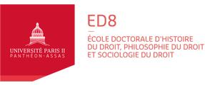 Logo Ecole doctoral d'histoire, philosophie et sociologie du droit - ED8
