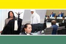 Visuel des sixèmes journées de la justice pénale internationale
